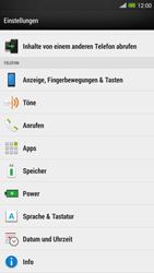 HTC One Max - Anrufe - Rufumleitungen setzen und löschen - Schritt 4