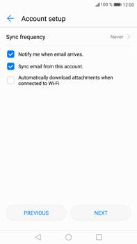 Huawei Mate 9 - E-mail - 032b. Email wizard - Yahoo - Step 8