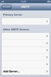 Apple iPhone 4 S - E-mail - Manual configuration - Step 17