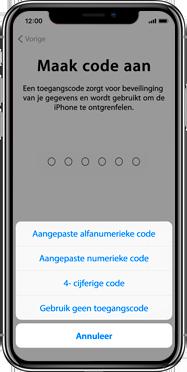 Apple iphone-xs-max-met-ios-13-model-a1921 - Instellingen aanpassen - Activeer het toestel en herstel jouw iCloud-data - Stap 13