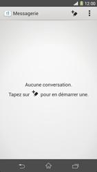 Sony Xpéria Z1 - Contact, Appels, SMS/MMS - Envoyer un MMS - Étape 4