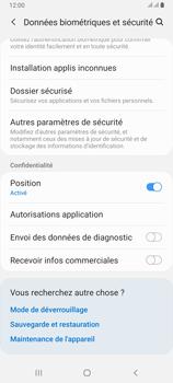 Samsung Galaxy A80 - Sécuriser votre mobile - Personnaliser le code PIN de votre carte SIM - Étape 5