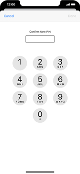 Apple iPhone 11 - Security - Set the PIN code for your SIM card - Step 10