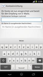 Sony Xperia Z1 - E-Mail - Konto einrichten - 18 / 21