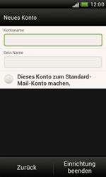 HTC Desire X - E-Mail - Konto einrichten - 1 / 1