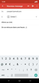 Nokia 7.1 - E-mails - Envoyer un e-mail - Étape 9