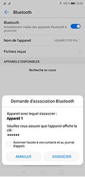 Huawei P20 pro - Internet et connexion - Connexion avec un équipement multimédia via Bluetooth - Étape 8