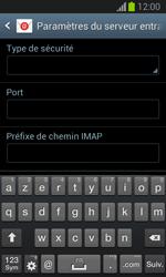 Samsung S7390 Galaxy Trend Lite - E-mail - Configuration manuelle - Étape 10