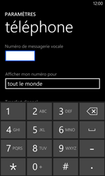 Nokia Lumia 1020 - Messagerie vocale - configuration manuelle - Étape 8