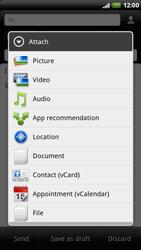 HTC X515m EVO 3D - E-mail - Sending emails - Step 9
