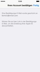 Apple iPhone 5S mit iOS 8 - Apps - Konto anlegen und einrichten - Schritt 38