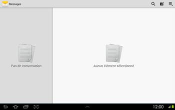 Samsung P5100 Galaxy Tab 2 10-1 - SMS - configuration manuelle - Étape 4