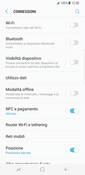 Samsung Galaxy S8 - Rete - Selezione manuale della rete - Fase 5