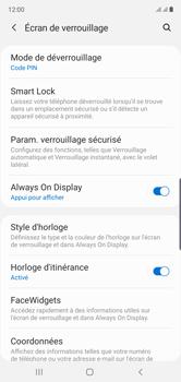 Samsung Galaxy Note 10 - Sécuriser votre mobile - Activer le code de verrouillage - Étape 13