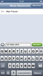Apple iPhone 5 - MMS - Erstellen und senden - Schritt 10