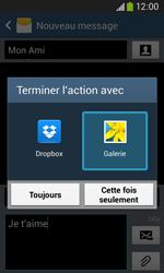 Samsung S7275 Galaxy Ace 3 - MMS - envoi d'images - Étape 15