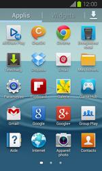 Samsung Galaxy Express - Internet et roaming de données - Désactivation du roaming de données - Étape 3