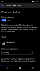 Microsoft Lumia 650 - Ausland - Im Ausland surfen – Datenroaming - 0 / 0