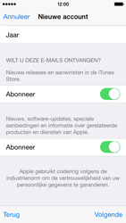 Apple iPhone 5s (iOS 8) - apps - account instellen - stap 18