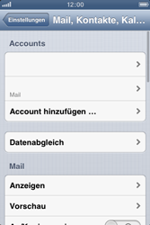 Apple iPhone 3GS - E-Mail - Manuelle Konfiguration - Schritt 13