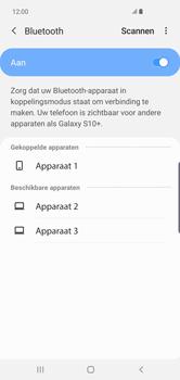 Samsung Galaxy S10 Plus - Bluetooth - headset, carkit verbinding - Stap 9