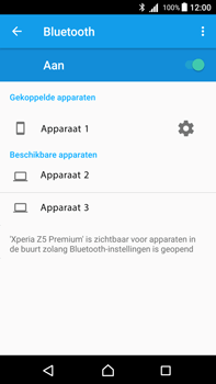 Sony Xperia Z5 Premium - Android Nougat - Bluetooth - koppelen met ander apparaat - Stap 10