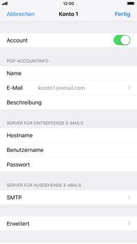 Apple iPhone 6 Plus - iOS 12 - E-Mail - Konto einrichten - Schritt 24