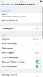 Apple iPhone 6 Plus iOS 8 - E-Mail - Konto einrichten (yahoo) - Schritt 10
