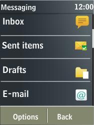 Nokia X3-02 - E-mail - Sending emails - Step 4