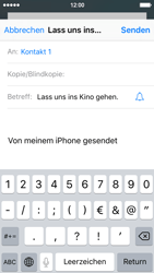 Apple iPhone 5s - E-Mail - E-Mail versenden - 7 / 16