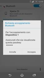 Sony Xperia Z3 - Bluetooth - Collegamento dei dispositivi - Fase 7