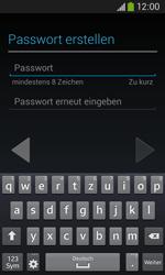Samsung S7275 Galaxy Ace 3 - Apps - Konto anlegen und einrichten - Schritt 11