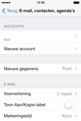Apple iPhone 4 iOS 7 - E-mail - Account instellen (POP3 zonder SMTP-verificatie) - Stap 24