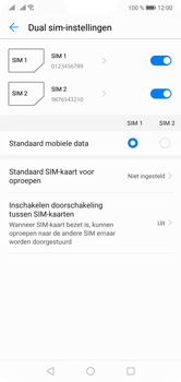 Huawei P20 Lite Dual-SIM (Model ANE-LX1) - Instellingen aanpassen - Nieuw toestel instellen - Stap 46