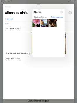 Apple iPad Pro (9.7) - iPadOS 13 - E-mail - envoyer un e-mail - Étape 13