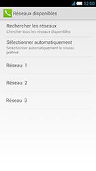Alcatel One Touch Idol S - Réseau - Sélection manuelle du réseau - Étape 11