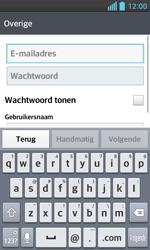 LG E460 Optimus L5 II - E-mail - e-mail instellen: POP3 - Stap 6