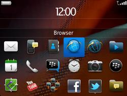 BlackBerry 9900 Bold Touch - Internet - Internetten - Stap 2