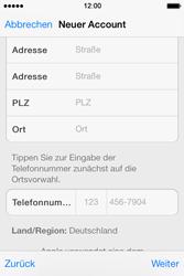 Apple iPhone 4 S mit iOS 7 - Apps - Konto anlegen und einrichten - Schritt 32