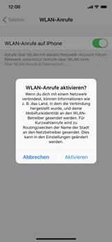 Apple iPhone XS - WiFi - WiFi Calling aktivieren - Schritt 7