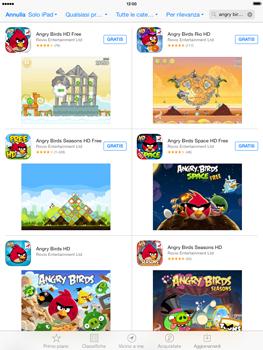 Apple iPad Retina iOS 7 - Applicazioni - Installazione delle applicazioni - Fase 12