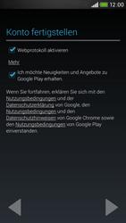 HTC Desire 601 - Apps - Konto anlegen und einrichten - 17 / 24
