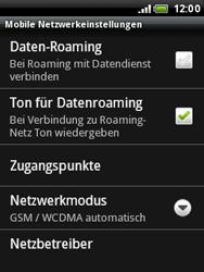 HTC A3333 Wildfire - Netzwerk - Netzwerkeinstellungen ändern - Schritt 6