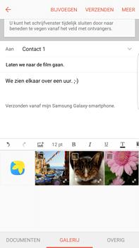 Samsung Samsung Galaxy S6 Edge+ (Android M) - e-mail - hoe te versturen - stap 12