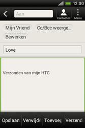 HTC A320e Desire C - E-mail - e-mail versturen - Stap 8