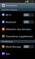 Samsung S7390 Galaxy Trend Lite - Internet - activer ou désactiver - Étape 4