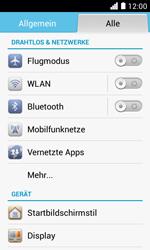 Huawei Ascend Y330 - Netzwerk - Netzwerkeinstellungen ändern - 0 / 0