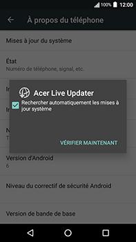 Acer Liquid Zest 4G Plus - Appareil - Mises à jour - Étape 7