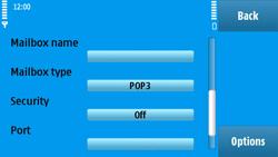 Nokia N97 - E-mail - Manual configuration - Step 25