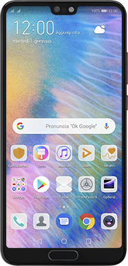Huawei P20 - Android Pie - Dispositivo - Come eseguire un soft reset - Fase 2